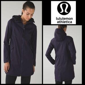Lululemon Grape Rare Definitely Raining Jacket 6